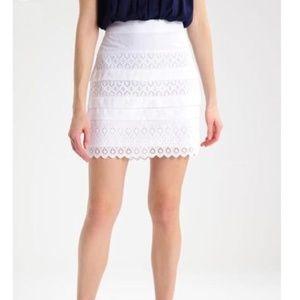 NBW white lace Gap skirt - NWT